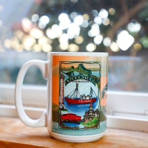 Souvenir Mug from Astoria Oregon